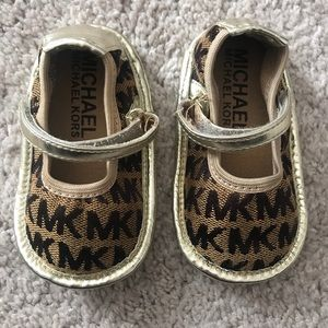 Michael Kors baby size 3 shoes